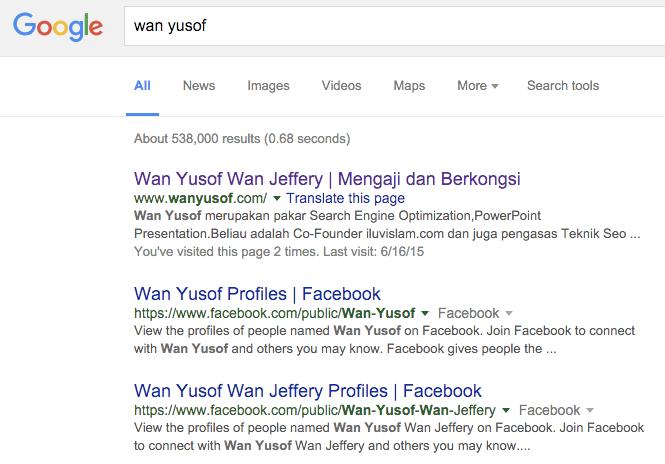 wan yusof