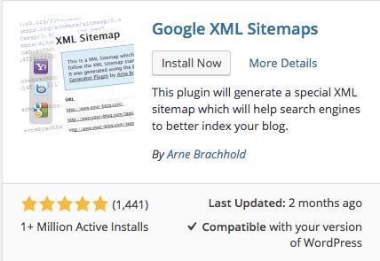 google sitemap xml